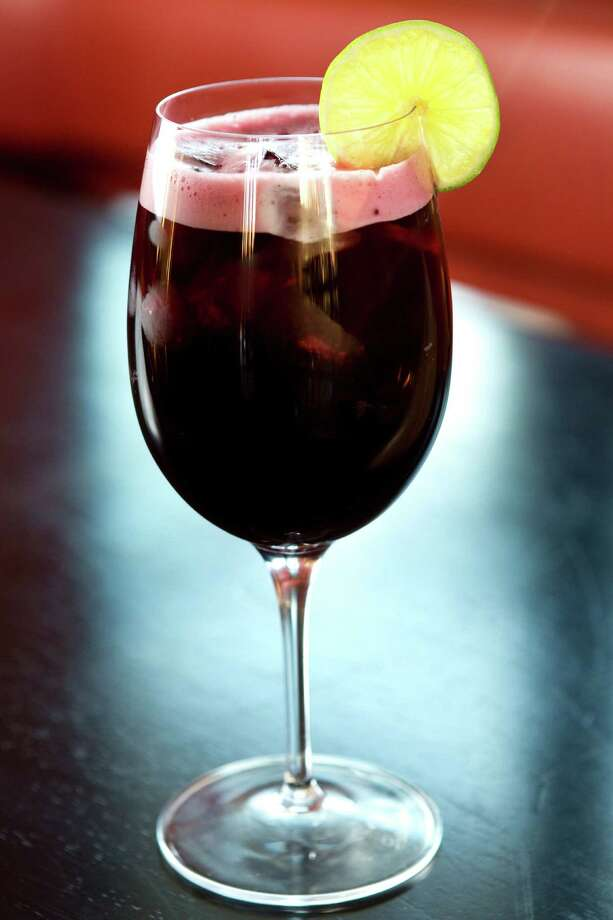 Chicha Morada is a refreshing option at Alma Cebiche. Photo: Brett Coomer, Houston Chronicle / © 2012 Houston Chronicle