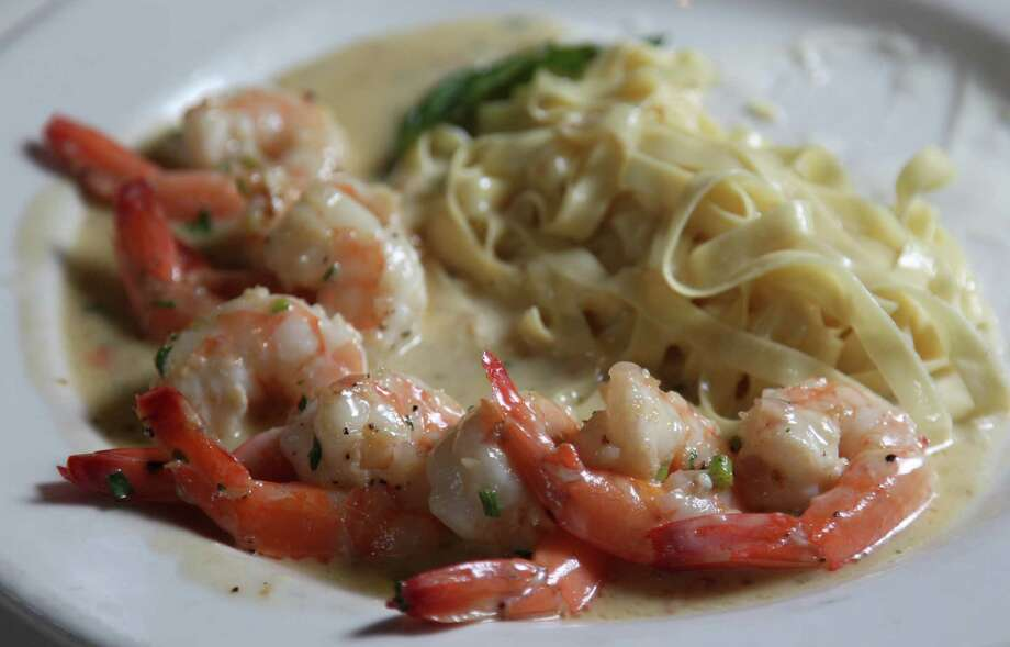 Damian's Cucina ItalianaShrimp Damian as  served at Damian's Cucina Italiana. Damian's will be among the more than 150 participants in Houston Restaurant Weeks, a charity dine around that benefits the Houston Food Bank. For a complete list of HRW restaurants, as well as menus and maps, go to houstonrestaurantweeks.com. Damian's: 3011 Smith St., 713-522-0439. Photo: Mayra Beltran, Staff / © 2012 Houston Chronicle