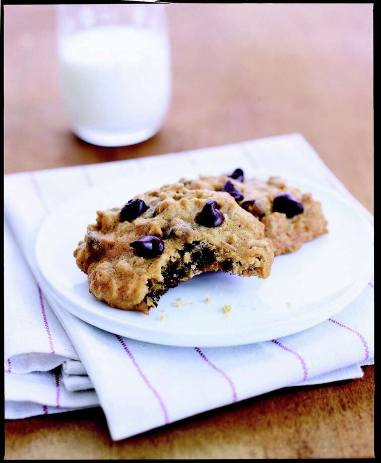 Good Housekeeping recipe for Healthy Makeover: Chocolate Chip-Oatmeal Cookies. Photo: Tara Donne