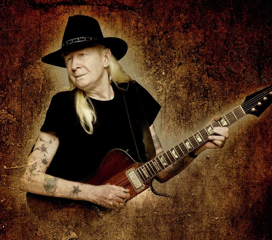 Johnny Winter, shown here, will perform with his band on Sunday, Jan. 20, at the Ridgefield Playhouse. The musicians are among several who will participate in Concerts for Hope and Healing, Saturday and Sunday in Ridgefield. The concerts are benefits in honor of first responders to the Dec. 14  Newtown tragedy and the families of those who died in the shooting. Photo: Contributed Photo