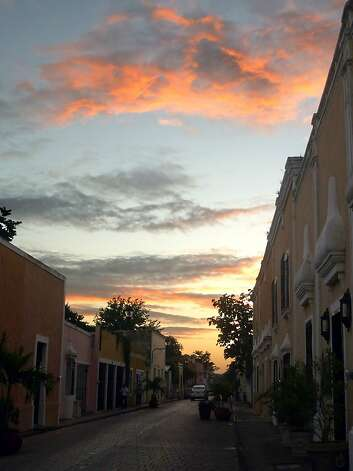 "A scene from ""Walk of the Friars"" at sunset. Photo: Christine Delsol, Special To SFGate"