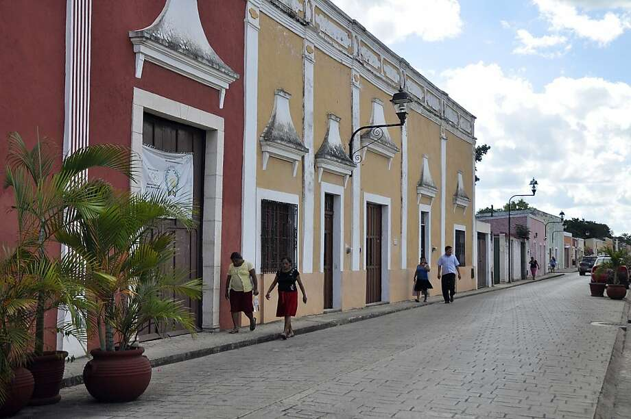 Halfway between Merida and Cancun, Valladolid boasts colonial buildings and 19th century structures along with a preserved traditional zócalo. Photo: Christine Delsol, Special To SFGate
