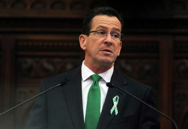 Gov. Dannel Malloy gives his 2013 State of the State Address Jan. 9, 2013, during opening day of the State Legislature at the Capitol Building in Hartford, Conn. Photo: Autumn Driscoll / Connecticut Post