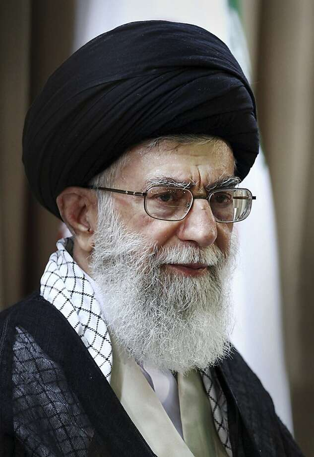 Ayatollah Ali Khamenei's 2005 edict against nuclear weapons is binding, says Iran. Photo: Anonymous, Associated Press