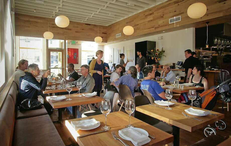 Piccino's 50-seat dining room captures the spirit of the emerging Dogpatch neighborhood. Photo: John Storey, Special To The Chronicle
