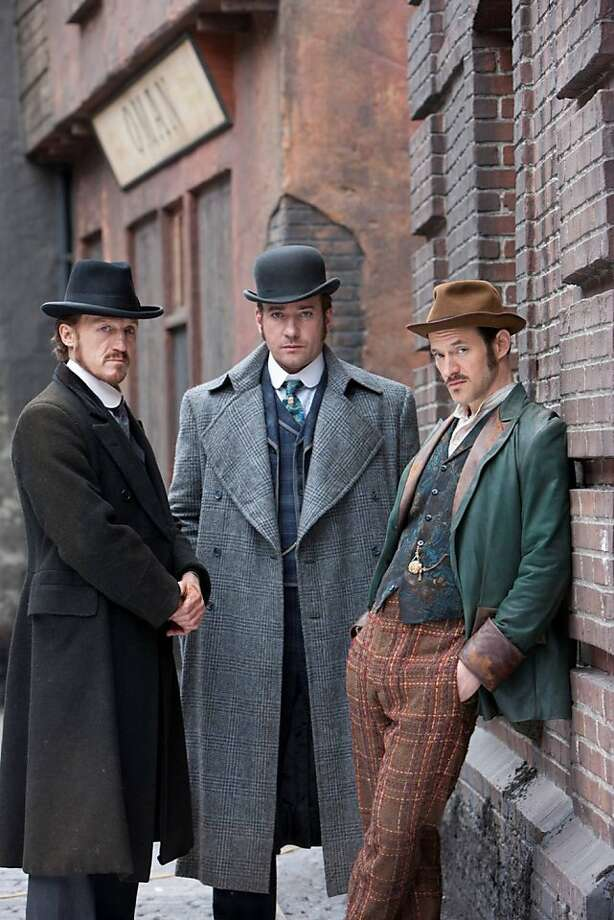 "Jerome Flynn (left), Matthew Macfadyen and Adam Rothenberg fight London crime in the new BBC America drama ""Ripper Street."" Photo: Handout, McClatchy-Tribune News Service"
