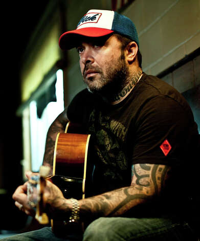 "Staind frontman Aaron Lewis is touring in support of his first full-length country album, ""The Road,"" with a show planned for Saturday night, Jan. 26, at the Mohegan Sun Arena. Photo: Contributed Photo / Connecticut Post Contributed"