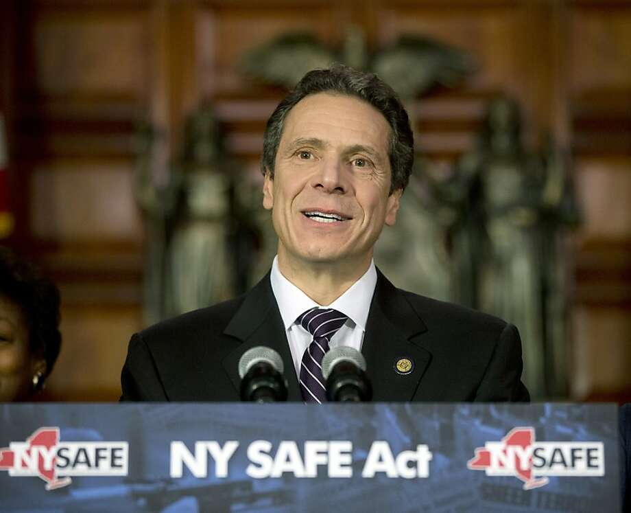 Gov. Andrew Cuomo signed the measure into law less than an hour after it passed the Legislature. Photo: Mike Groll, Associated Press