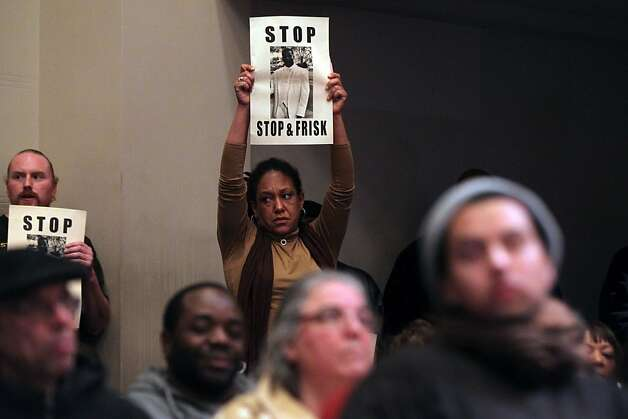 "The Oakland City Council's Public Safety Committee meeting Tuesday heard from hundreds of it's citizens that wanted to voice their opinions about consultant William Bratton, ""stop and frisk "" policy Tuesday Jan 15, 2013, in Oakland California. Photo: Lance Iversen, The Chronicle"