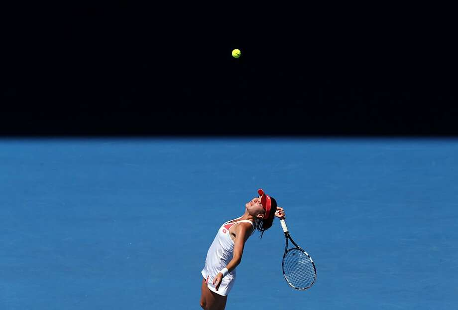 Poland's Agnieszka Radwanska rolled to her 11th consecutive victory. Photo: Greg Baker, Associated Press