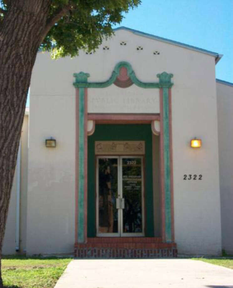 Former Prospect Hill Library, 2322 Buena Vista St. Photo: Courtesy Photo / San Antonio Historic Design And Review Commission