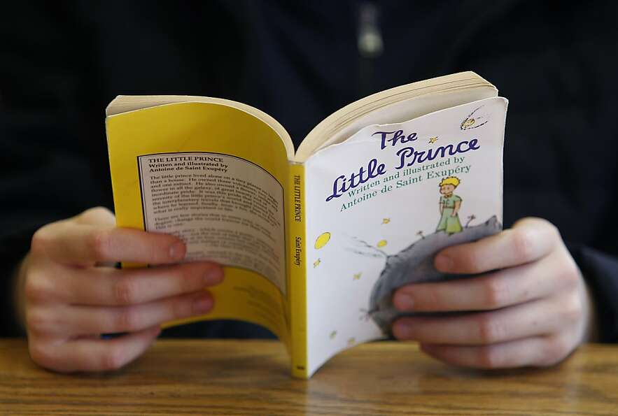 Students in Melissa Thormahlen's 4th and 5th grade class read The Little Prince at John Yehall Chin