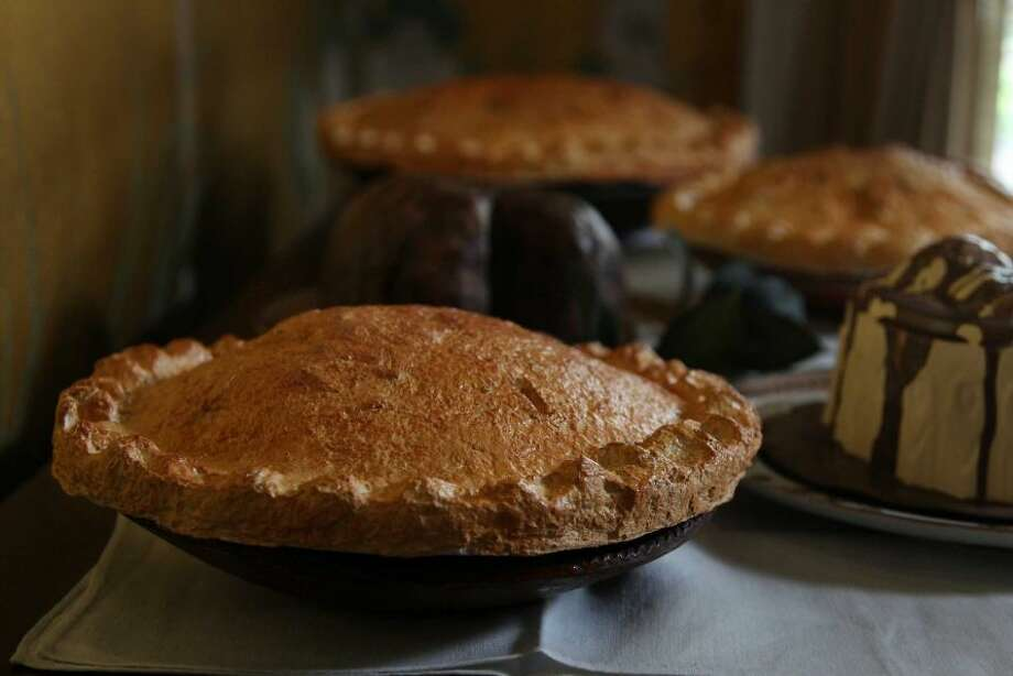 Gadbois created a pie and pinched the crust, just like his mother used to do with the real treats.
