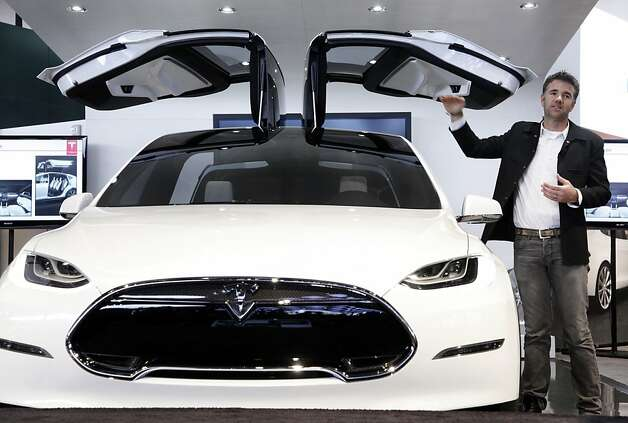 TESLA MODEL X: The electric car brand has made a name for itself over the past year with its sport sedans. The company is now expand its lineup with its Model X. The crossover SUV has plenty of unique features.