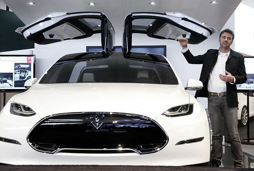 TESLA MODEL X: The electric car brand has made a name for itself over the past y