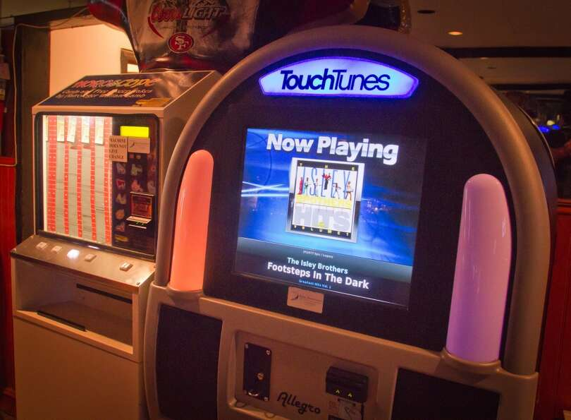 The Juke Box at Sam Jordan's Bar.