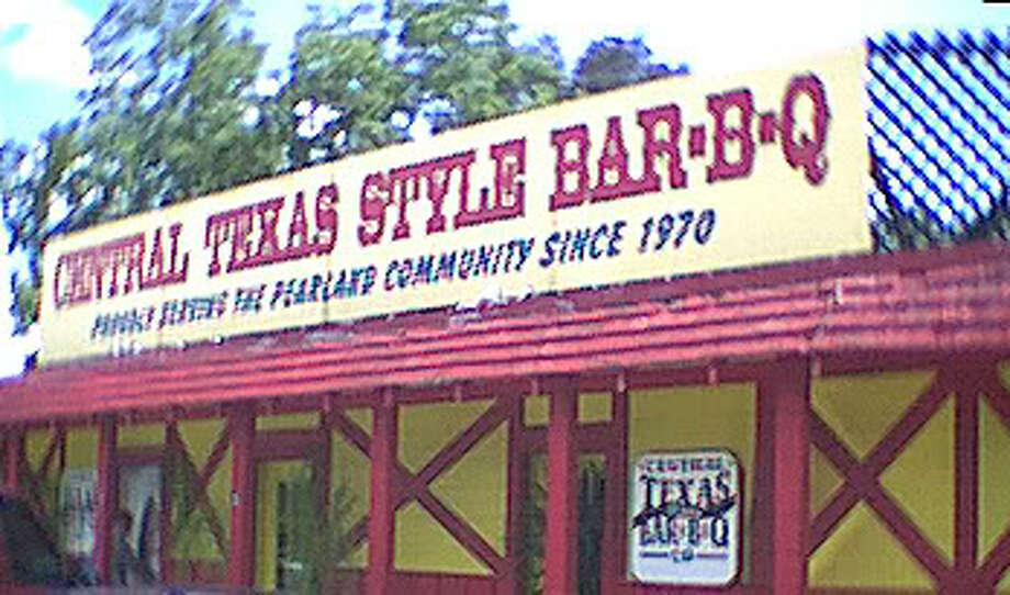 An early morning that damaged Central Texas Style BBQ at 4110 W. Broadway in Pearland. Fire officials said the blaze began inside one of the oldest barbecue pits in the restaurant and spread, damaging part of the business. Photo: Central Texas Style BBQ
