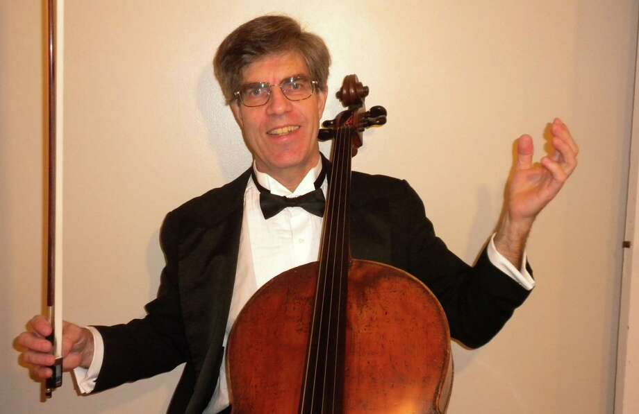 Cellist Gunnar Sahlin will join his Cypress Ensemble colleagues in a benefit concert in Darien on Sunday, Jan. 27. Photo: Contributed