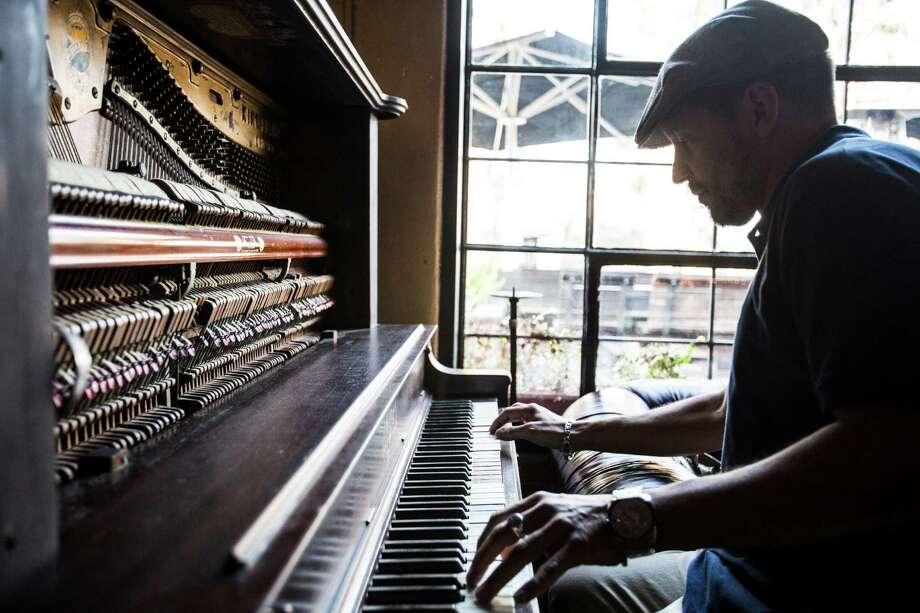 Andre Sam-Sin aka DJ Sun, Dec. 30, 2012 in Houston at Boheme. He has a new CD coming out Jan. 19. Photo: Eric Kayne / © 2012 Eric Kayne