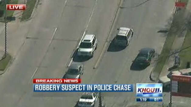 Chase scene | KHOU-TV Photo: .