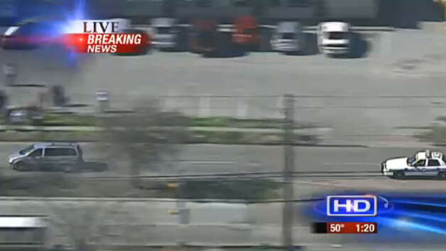 Chase scene | KTRK-TV Photo: .