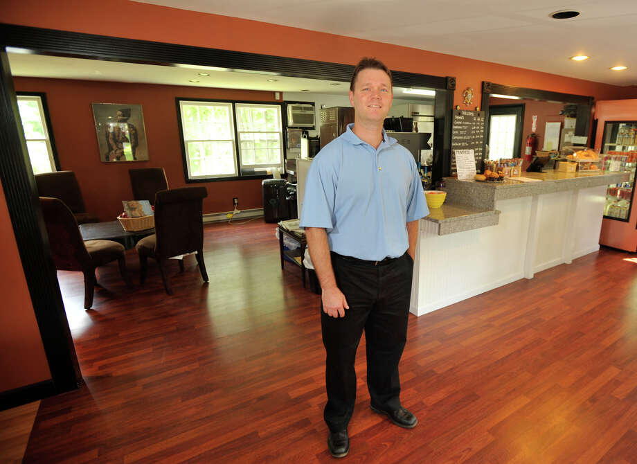 John Munro is the owner of Jesters Coffee in Brookfield. Photographed on Friday, Aug. 24, 2012. Photo: Jason Rearick / The News-Times