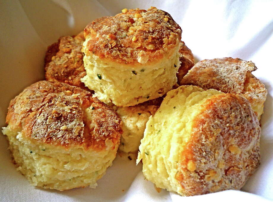 cheese and herb biscuits/theseasonalgourmet