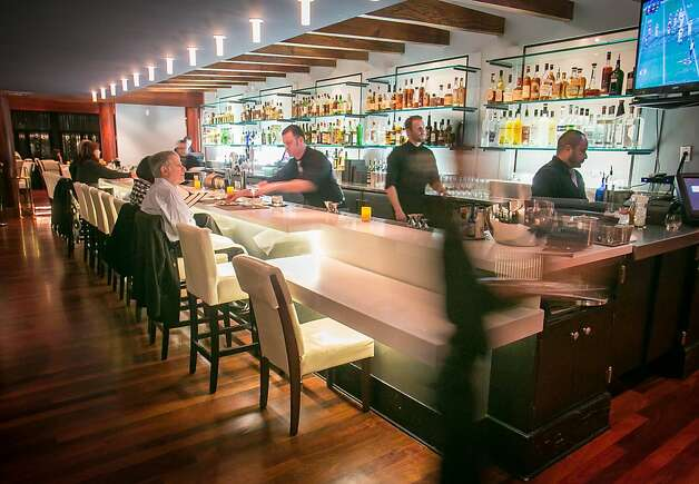 The bar at The Sea restaurant in Palo Alto, Calif., is seen on Saturday, January 12th, 2013. Photo: John Storey, Special To The Chronicle