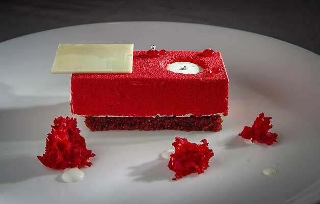 The Red Velvet Dessert at The Sea restaurant in Palo Alto, Calif., is seen on Saturday, January 12th, 2013. Photo: John Storey, Special To The Chronicle