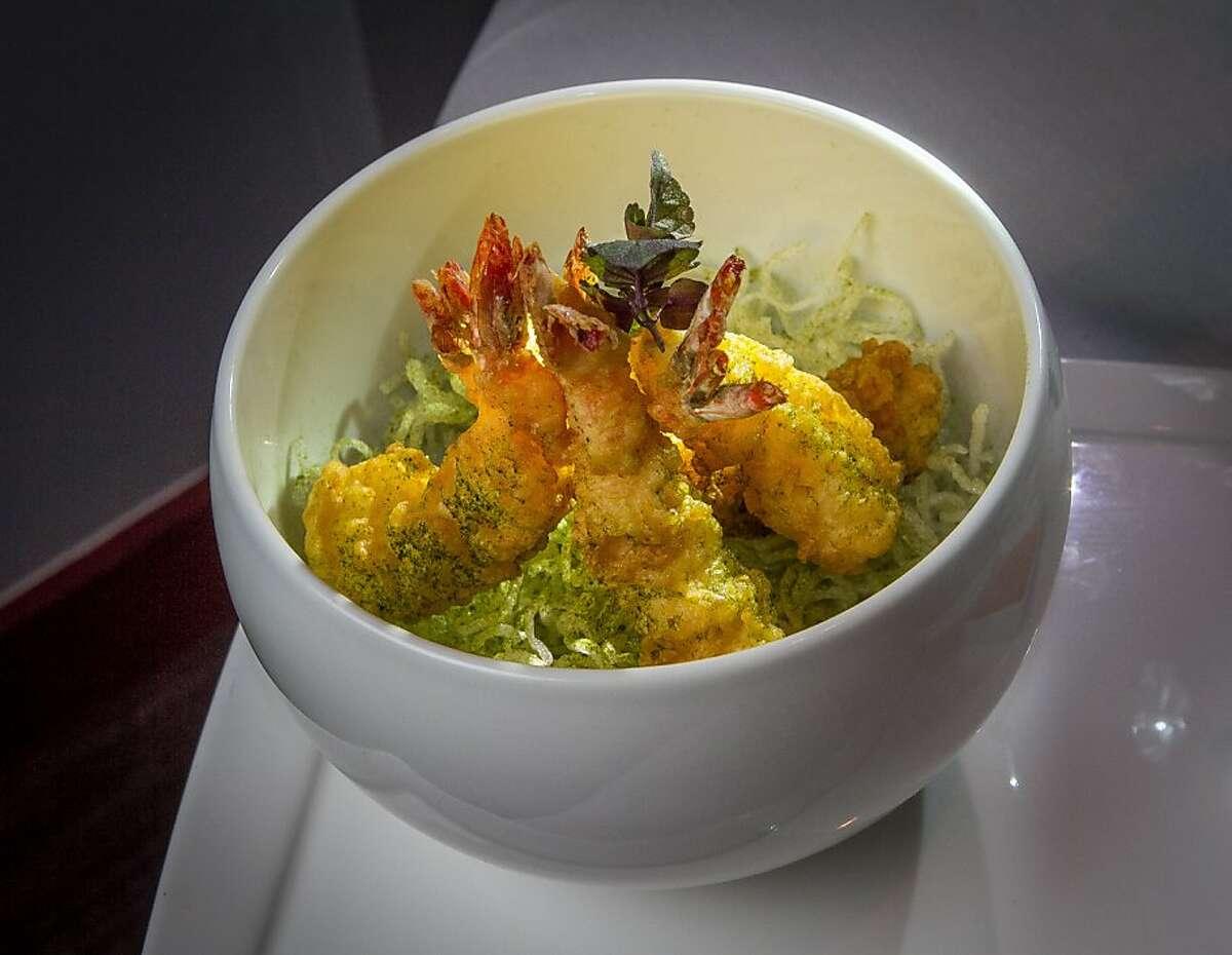 The Tempura Shrimp at The Sea restaurant in Palo Alto, Calif., is seen on Saturday, January 12th, 2013.