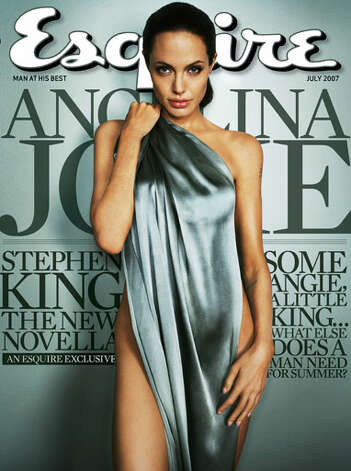 Angelina Jolie, July 2007