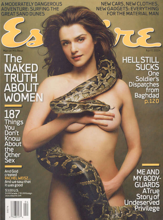Rachel Weisz, April 2004