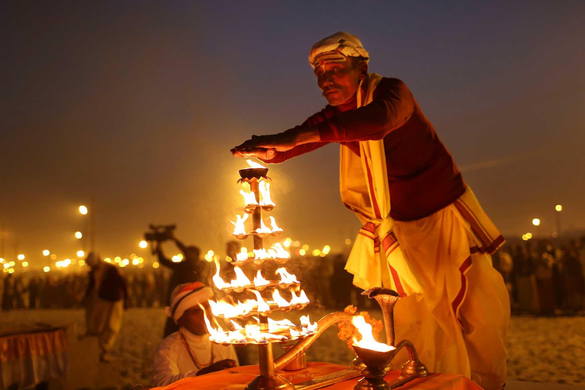 Cleansing Ritual Draws Millions Of Hindus San Antonio