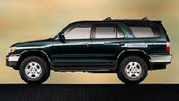 Police say a Toyota 4-Runner that looks similar to this SUV may have been used as the getaway car in a fatal shooting outside a bar in southwest Houston about 3:30 a.m. Dec. 3. Photo: HPD