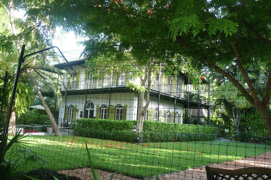 One of the sites to see during breaks in the Key West Literary Seminar was Ernest Hemingway's house, where he wrote some of his memorable novels. Photo: Anne W. Semmes