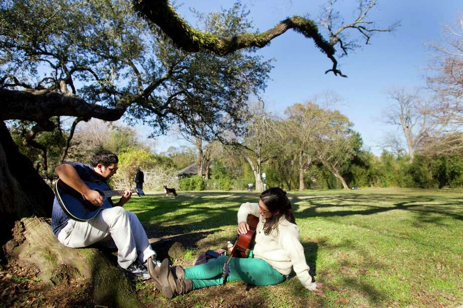 Menil Parkis the perfect picnic park and full of fun sculptures for the art enthusiast in everyone.Find it at 1450 Branard. Photo: Brett Coomer, Houston Chronicle / © 2013 Houston Chronicle