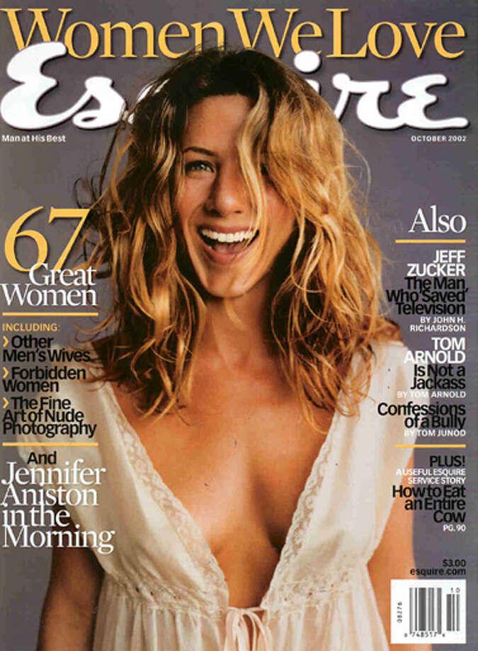 Jennifer Aniston, October 2002