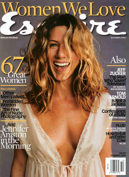 Jennifer Aniston, October 2002