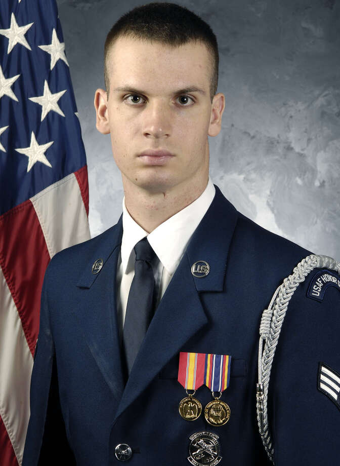 Senior Airman David Valine of Warren Photo: Contributed Photo