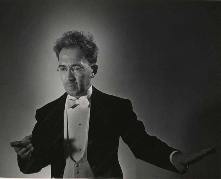 Ernst Hoffman (1936-47) Photo: Houston Chronicle