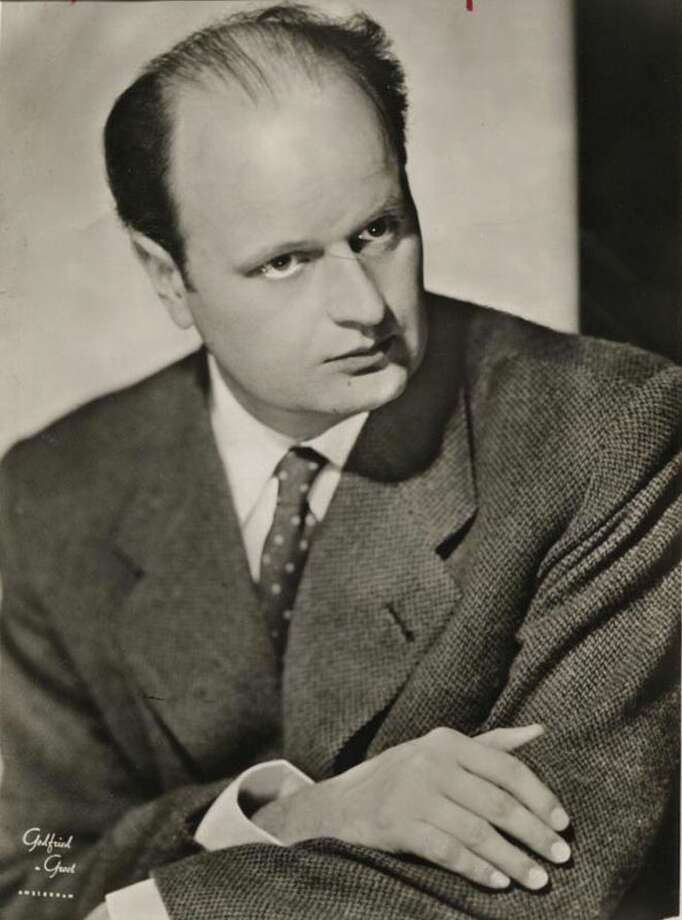 Picture 344: Ferenc Fricsay (1954) Photo: Houston Chronicle