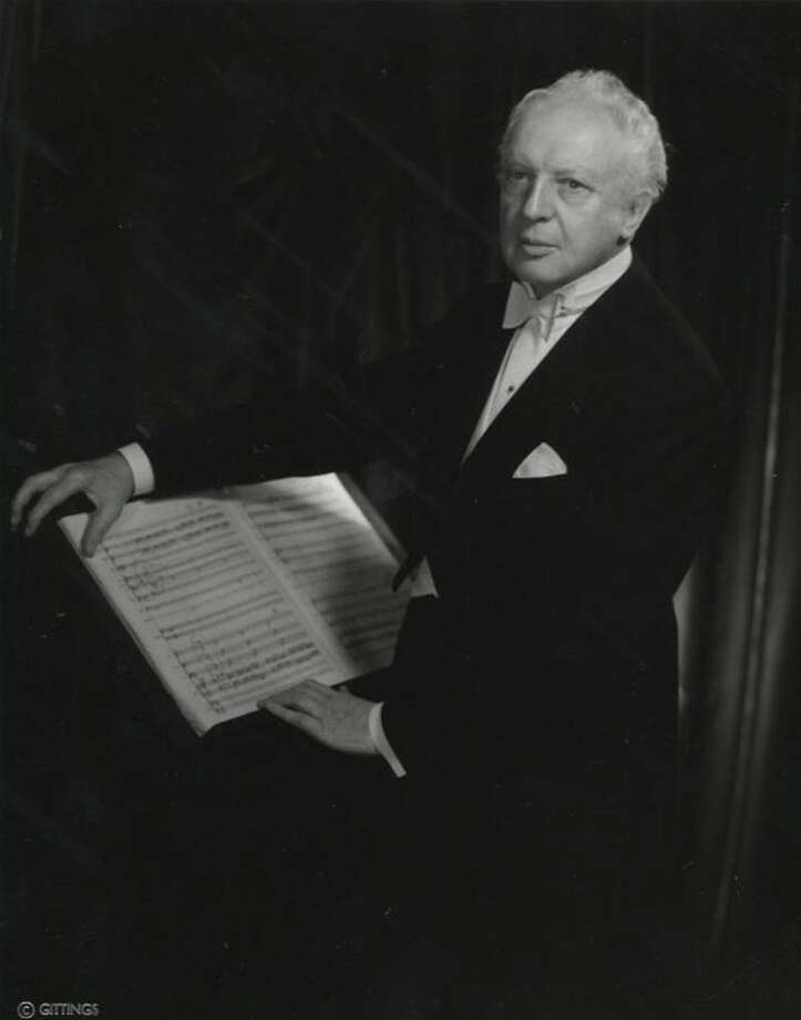 Picture  343: Leopold Stokowski (1955-61) Photo: Houston Chronicle
