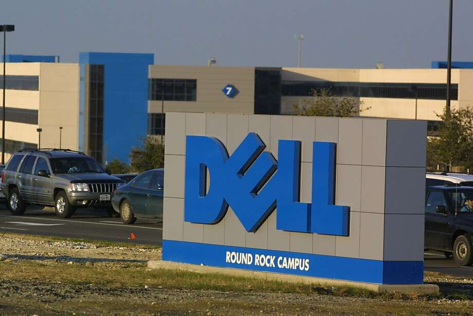 FILE - JANUARY 14, 2013: According to reports from Bloomberg that Dell Inc. was in talks with private equity firms to take the computer maker private January 14, 2013. Shares jumped more than 11 percent.                                             384679 05: The Austin, Texas based Dell Computer Corp. warned January 22, 2001 that its fourth-quarter results would fall short of expectations as a result of the slowdown in the global economy, January 23. (Photo by Joe Raedle/Newsmakers) Photo: Joe Raedle, Getty Images