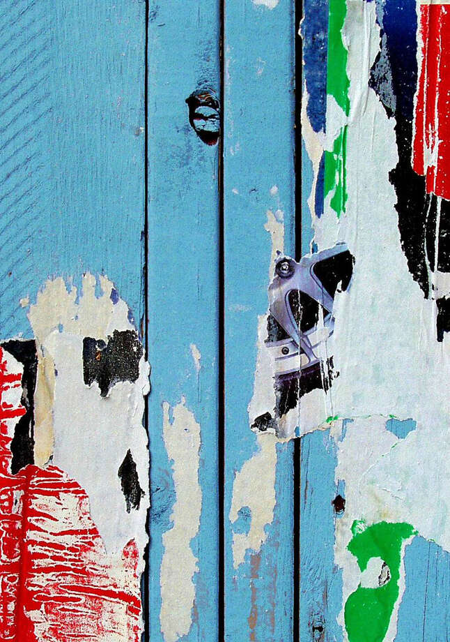 "Stamford artist Phyllis Sinrich's archival pigment photograph ""Blue Fence"" will be among the works on display during the Stamford, Conn.-based Loft Artists Association's ""2013/3 New Members"" exhibition that will run through Sunday, Feb 3, 2013. An opening reception is set for Friday, Jan. 18, 2013, from 6 to 9 p.m. For more information, visti http:// www.loftartists.com. Photo: Contributed Photo"