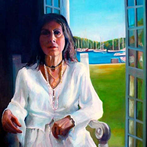 "Stamford artist Barbara Mathis' oil-on-canvas ""Shadow Gaze"" will be among the works on display during the Stamford, Conn.-based Loft Artists Association's ""2013/3 New Members"" exhibition that will run through Sunday, Feb 3, 2013. An opening reception is set for Friday, Jan. 18, 2013, from 6 to 9 p.m. For more information, visti http:// www.loftartists.com. Photo: Contributed Photo"