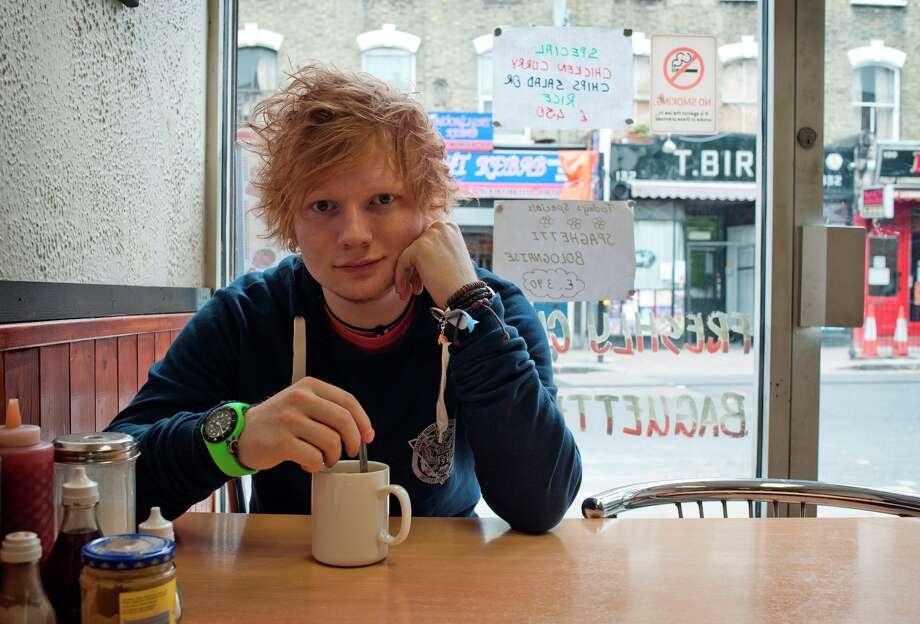 Ed Sheeran. Photo by Dan Curwin. Photo: Photo By Dan Curwin