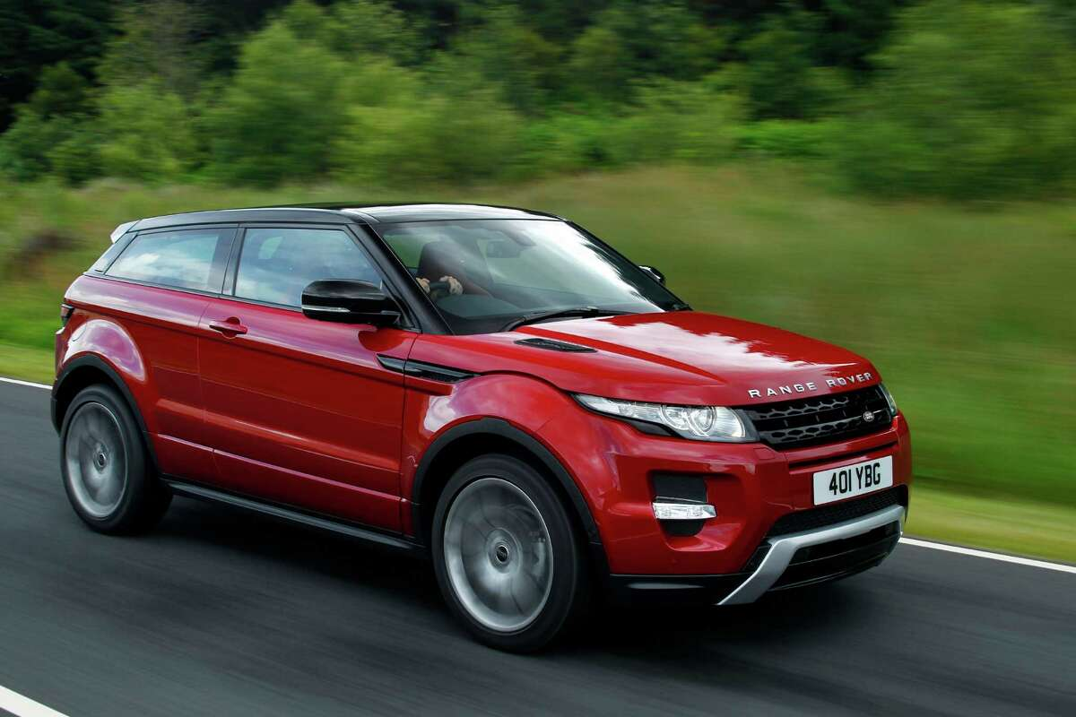 Range Rover Evoque Debuting in 2012, the Range Rover Evoque's lightweight build and environmentally conscious design make it the most fuel-efficient Range Rover model; $41,145-$44,145.