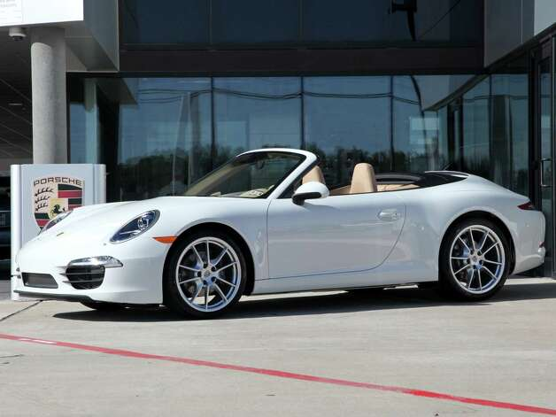 The Porsche 911 Carrera Cabriolet  is among 500 new vehicles that will be on display. Photo: Houston Auto Show