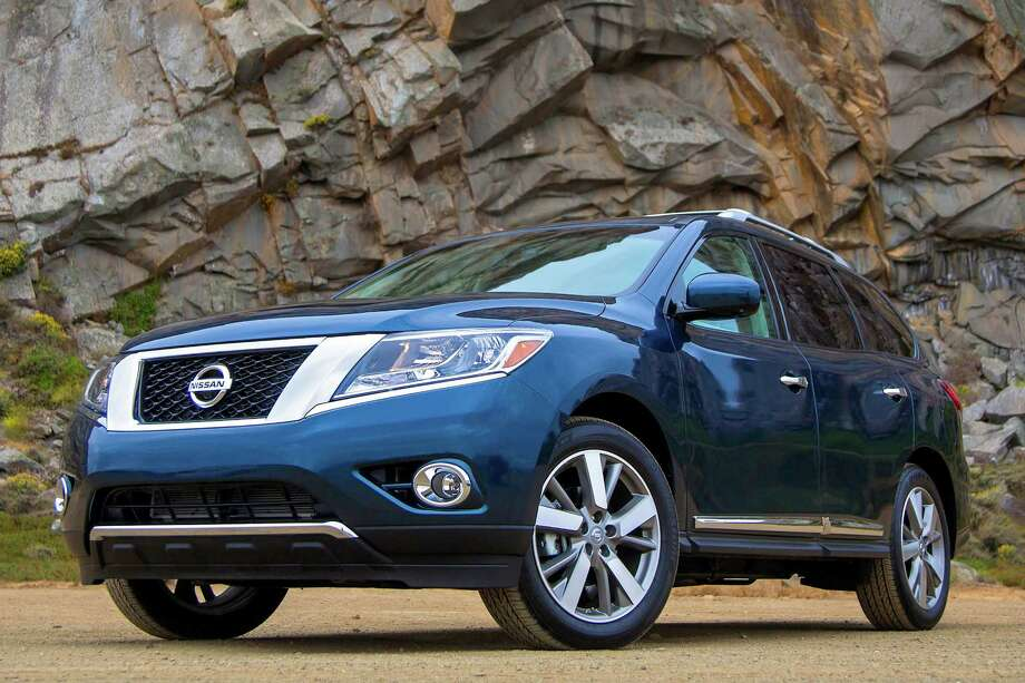 Redesigned for 2013, the Nissan Pathfinder evolves into a crossover, with three rows of seats. It has plenty of power, lots of standard and optional features, and plenty of built-in and optional safety features. Photo: Nissan, Nissan North America Inc. / © 2012 Nissan