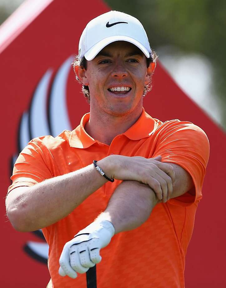 Rory McIlroy's goal: put his sponsorship deal behind him and play. Photo: Matthew Lewis, Getty Images